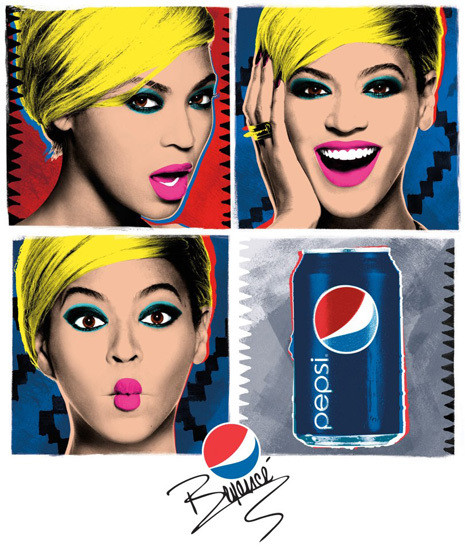 Models and Their Moms, Beyonce's Pop Art Pepsi Ads and More!