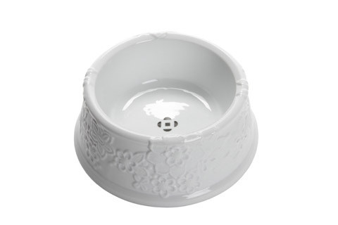 Oscar de la Renta Dog Bowl