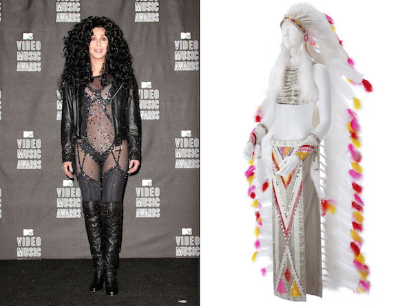 Cher's 'Half-Breed' Outfit, 1972