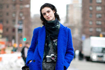 Head-Turning Coats Steal the Street Style Show