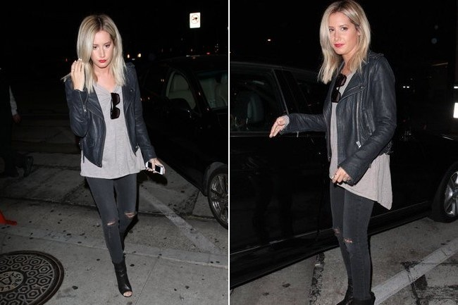 Ashley Tisdale's Simple Chic Look
