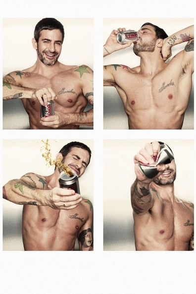 Marc Jacobs Strips Down for Diet Coke [VIDEO]