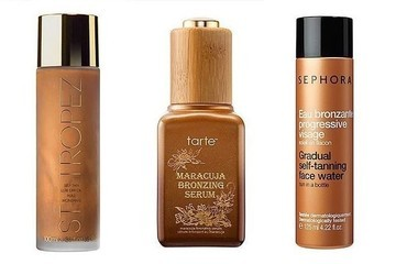 Would You Try a Self-Tanning Oil or Facial Water?