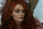 Lydia Hearst Debuts Fiery New Hair Color on Twitter
