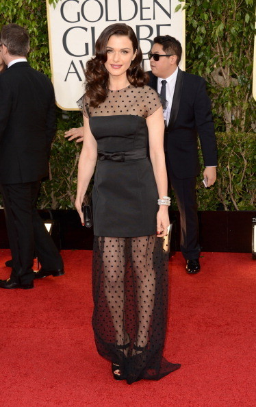 Rachel Weisz at the 2013 Golden Globes