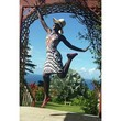 Lupita Nyong'o Jumps for Joy