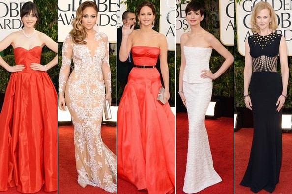 Golden Globes 2013 - Best & Worst Dressed