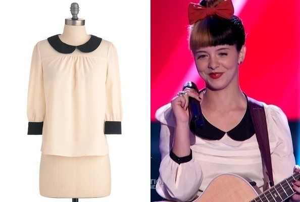 Melanie Martinez's Peter Pan-Collared Blouse on 'The Voice'