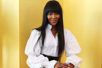 Naomi Campbell's Perfectly Puff-Sleeved Shirt