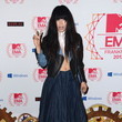 Is Singer Loreen Topless Under that Leather Jacket at the MTV EMAs 2012