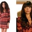 Hannah Simone's Wrap Dress on 'New Girl'