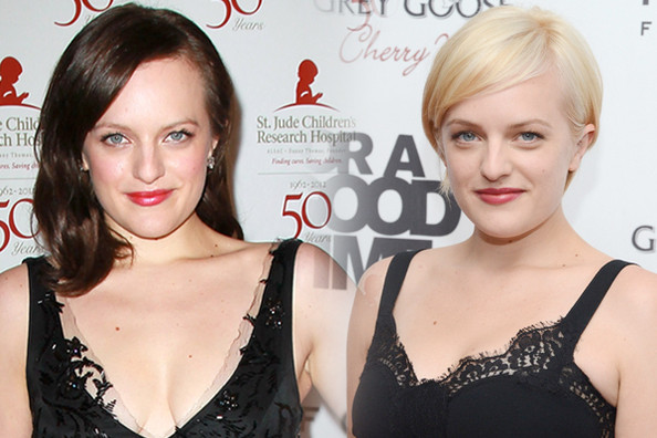 Love it or Loathe it: Elisabeth Moss Goes Blonde!