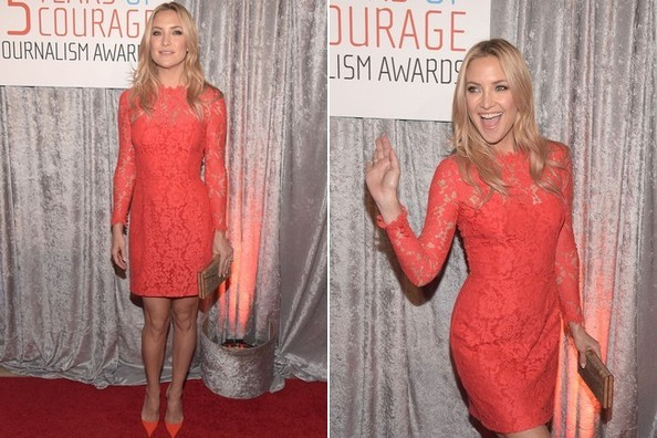 Look of the Day, October 29th: Kate Hudson's Flattering Frock