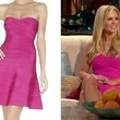 Tamra Barney's Pink Strapless Dress on 'Real Housewives of Orange County'