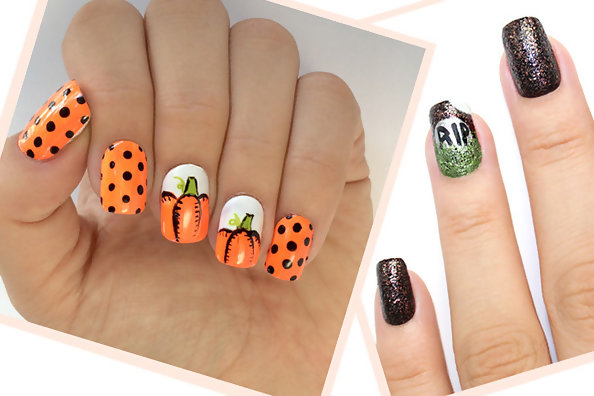 Two Halloween Nail Looks You're Going to Want to Try