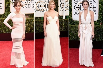 Trending Now: White Gowns at the Golden Globes