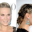 Molly Sims' Three French Braids + Bun