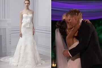 See What Mrs. Sean Lowe Wore on Her Big (Televised) Day