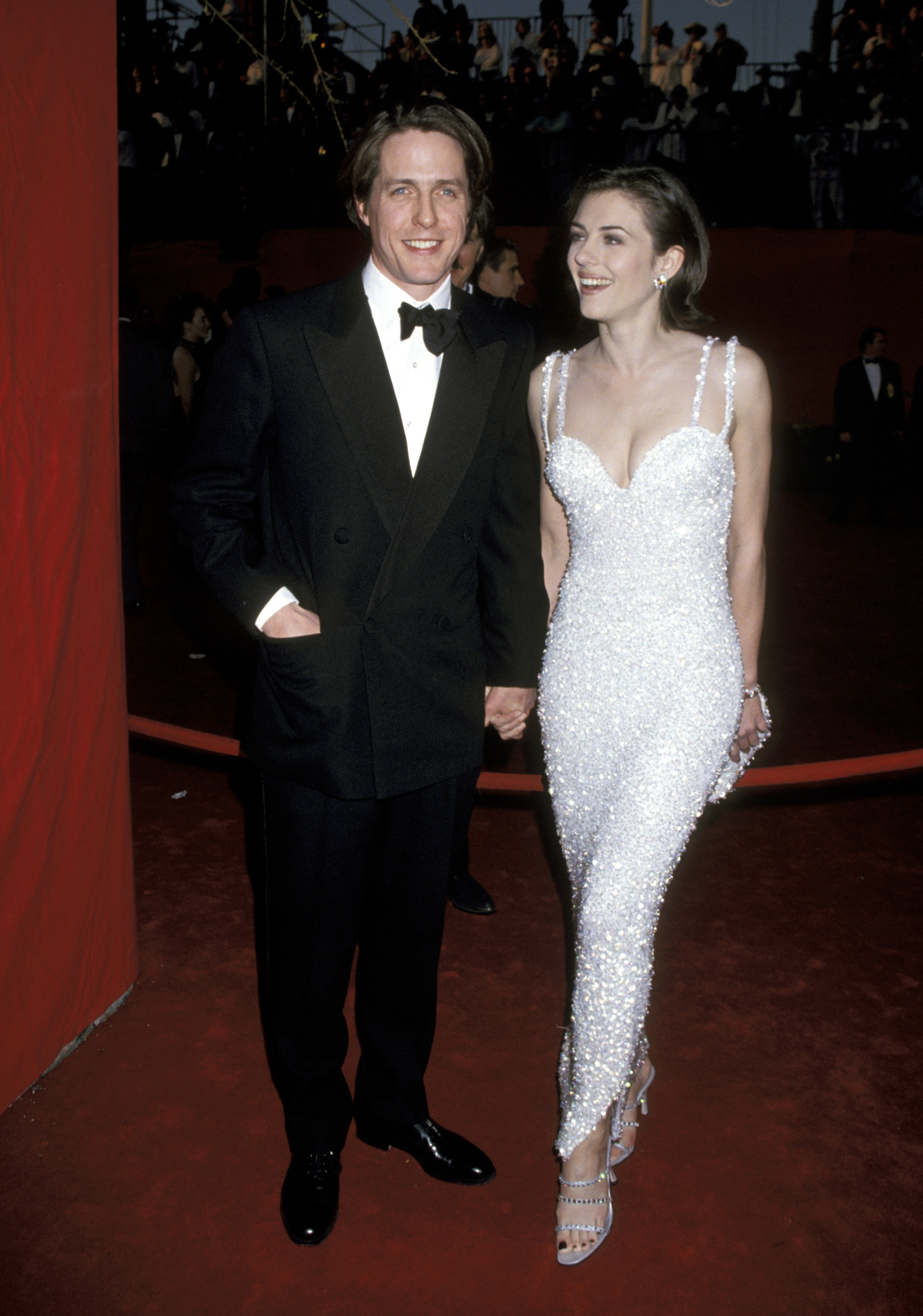 Elizabeth Hurley 1995 This Is What The Oscars Red