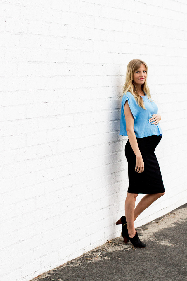 Style the Bump: Sarah Sherman Samuel