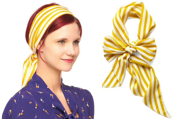 ModCloth's Striped Head Scarf