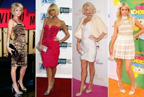 The Style Evolution of Paris Hilton