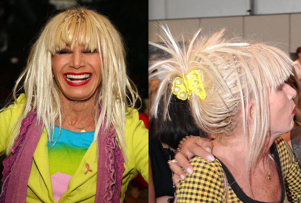 Betsey johnson hollywood wigs and weaves stylebistro