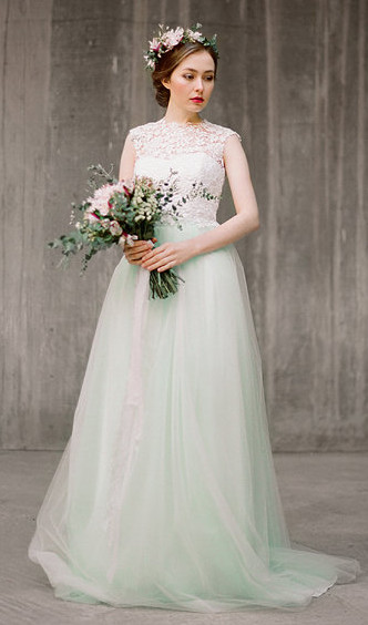 7 Non–White Wedding Dresses For Colorful Brides