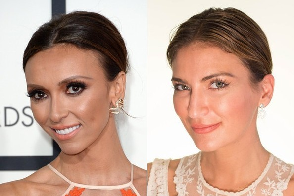 Get the Look: Giuliana Rancic's Smoothed Chignon
