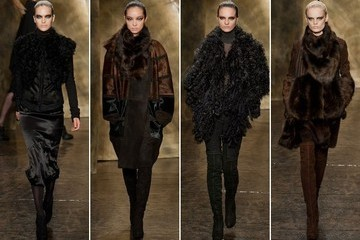 Donna Karan Fall 2013 Fashion Week Show - The Most Beautiful Jersey Gowns in the World