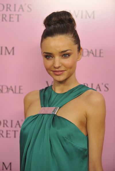 miranda kerr hair color. miranda kerr hair updo.
