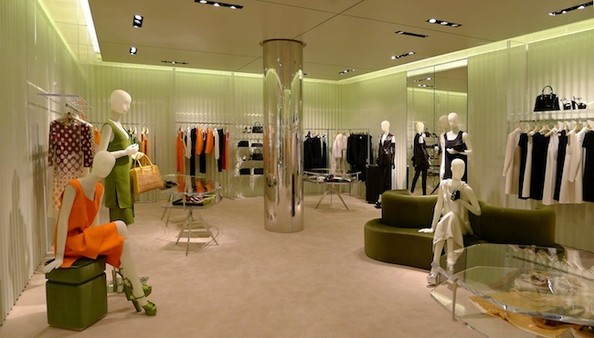 Inside the New Prada, Miami Design District