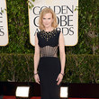Nicole Kidman Wears Alexander McQueen at the 2013 Golden Globes