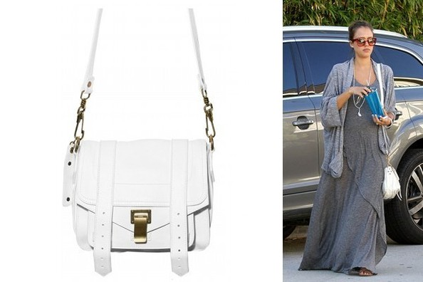 Mighty Mini: Jessica Alba Carries Proenza Schouler