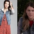 Lindsey Shaw's Mixed-Media Jacket on 'Pretty Little Liars'