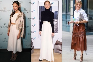 Long Skirts Galore: 500+ Ways to Style a Maxi Skirt