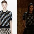 Rachel Bilson's Gemstone Print Blouse on 'Hart of Dixie'