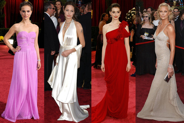 Oscar Gowns Throughout the Years