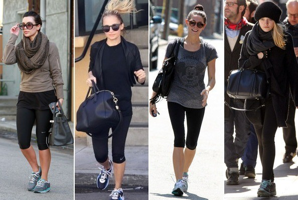 Celebrities' Designer Gym Bags