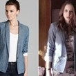 Troian Bellisario's Chambray Blazer on 'Pretty Little Liars'