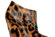 Louise Roe Walks on the Wild Side in Sculpted Leopard Wedges