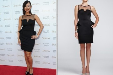 Found: Cheryl Burke's Affordable Cocktail Dress