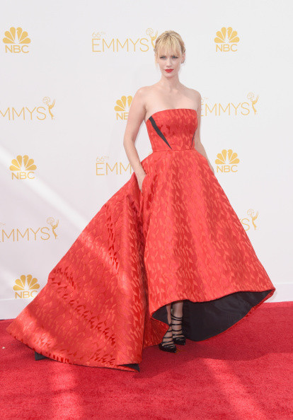January Jones in  Prabal Gurung, 2014
