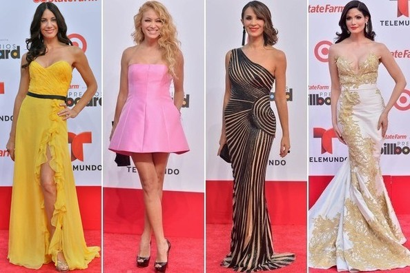 Best Dressed at the Billboard Latin Music Awards 2013