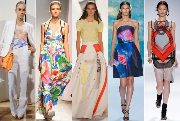 Fashion Picture: Spring 2013 Runway Trend: Abstract Graphic Prints