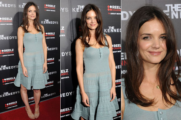 Look of the Day: Katie Holmes in Ralph Lauren