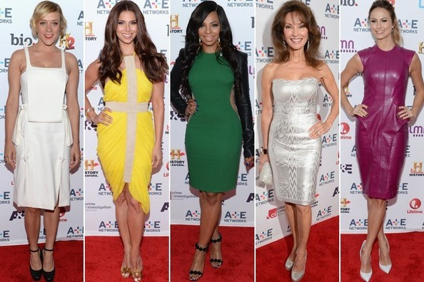 Best & Worst Dressed at the A&E Upfronts - May 2013