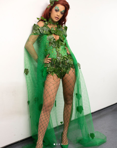 Rita Ora as Poison Ivy - The Best Celebrity Halloween Costumes You ...