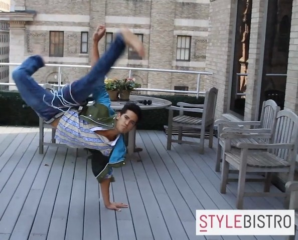 Video: Fun With Male Models—Ever Wonder What These Guys Do For Fun? Plus, Secret Talents!