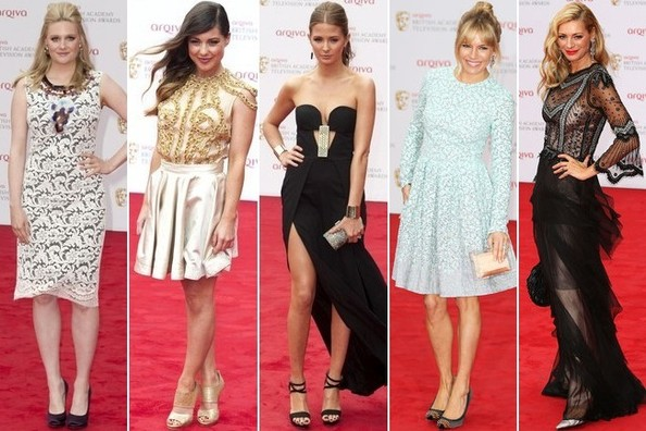 Best Dressed at the 2013 British Academy Television Awards